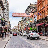 La rue St-Jean à Québec