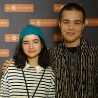 Sara Montpetit et Albert Lalonde.