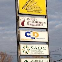 Plaques SADC-CLD-SDT du Témiscamingue