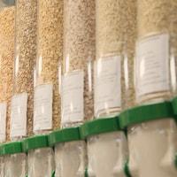 distributeurs de céréales diverses