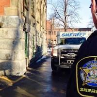 Des shérifs en Nouvelle-Écosse.