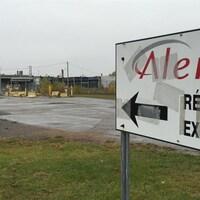 Le site de l'ancienne usine Aleris dans le secteur Cap-de-la-Madeleine à Trois-Rivières.