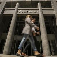 Bureau de SNC-Lavalin à Montréal.
