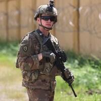 Un soldat américain en Irak.