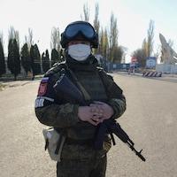 Un militaire russe.
