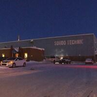 L'immeuble de Soudo Technic à Sept-Îles