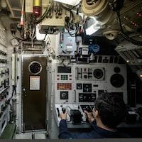 Intérieur d'un sous-marin