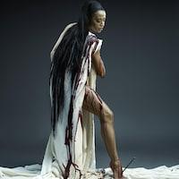L'affiche du spectacle « Stabat Mater » des Grands Ballets canadiens de Montréal