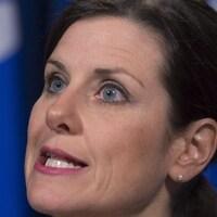 Stéphanie Vallée, ministre de la Justice du Québec