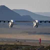 Un aperçu de l'avion Stratolaunch, développé par la compagnie du même nom