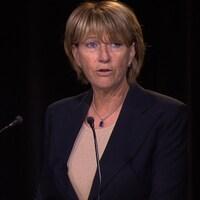 Sylvie Lalande en conférence