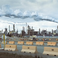 Les installations de Syncrude à Fort McMurray.
