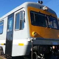 Le train léger de Charlevoix .