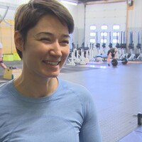 Tania Tetrault Vrga, au centre d'entraînement CrossFit Winnipeg