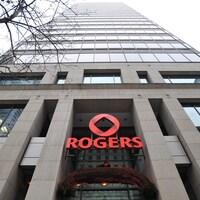 L'édifice de Rogers à Montréal.