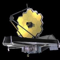 Illustration du télescope spatial James Webb