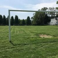 Les buts du terrain de soccer