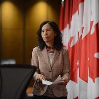 Theresa Tam à Ottawa.