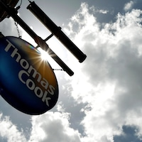 Le logo du voyagiste britannique Thomas Cook