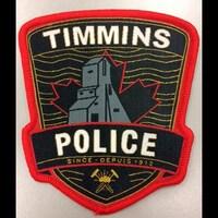 L'écussion de la police de Timmins