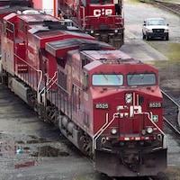 Un train du Canadien Pacifique.