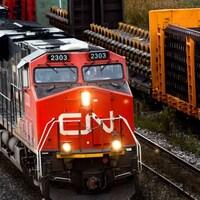 Un train du Canadien National.