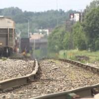 Chemin de fer à Trois-Rivières