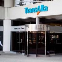 Entrée des bureaux de TransAlta.