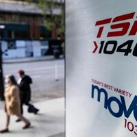 L'enseigne de la radio TSN 1040.