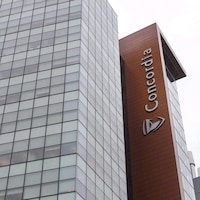 Le campus de l'Université Concordia, au centre-ville de Montréal.