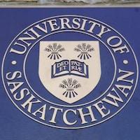 Le logo de l'Université de la Saskatchewan.