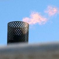 L'usine de biométhanisation de Rivière-du-Loup cessera de brûler son méthane d'ici la fin du mois de juin.