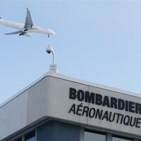 L'usine de Bombardier, à Montréal