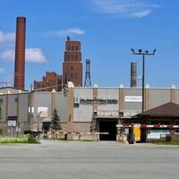 L'usine de Papiers White Birch de Québec