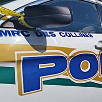 Un véhicule de la police de la MRC des Collines-de-l'Outaouais. (Archives)