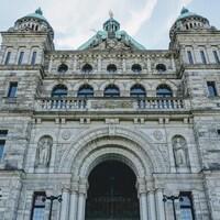 Le parlement législatif à Victoria.