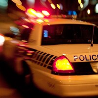 Voiture de police du SPVM.
