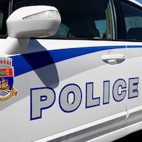 Une voiture de la police de Québec