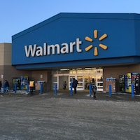 Le Walmart de Fort McMurray
