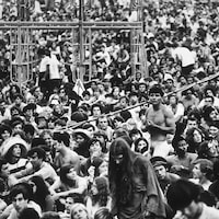 Le festival Woodstock en 1969