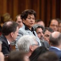 Yasmin Ratansi à la Chambre des communes.
