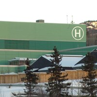 hôpital en hiver