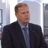 Yves Francoeur, président de la Fraternité des policiers et policières de Montréal