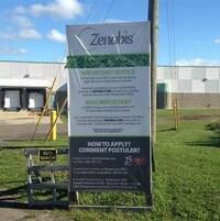 L'usine de Zenabis à Atholville.