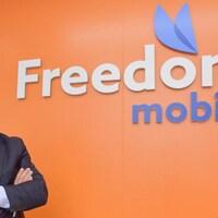 Le PDG de Freedom Mobile Alek Krstajic.