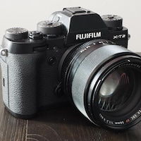 L'appareil photo hybride Fujifilm X-T2.