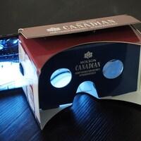Une partie de hockey en réalité virtuelle.