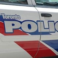 Une voiture de la police de Toronto.