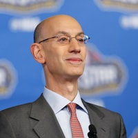 Le commissaire de la NBA Adam Silver