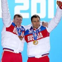 Aleksander Zubkov et Alexey Voevoda en 2014